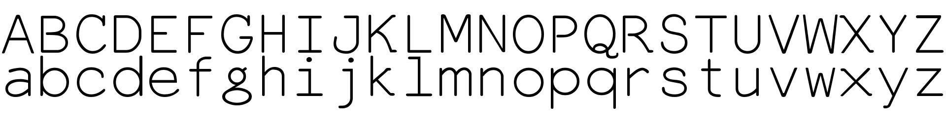 Everson Mono Latin 6