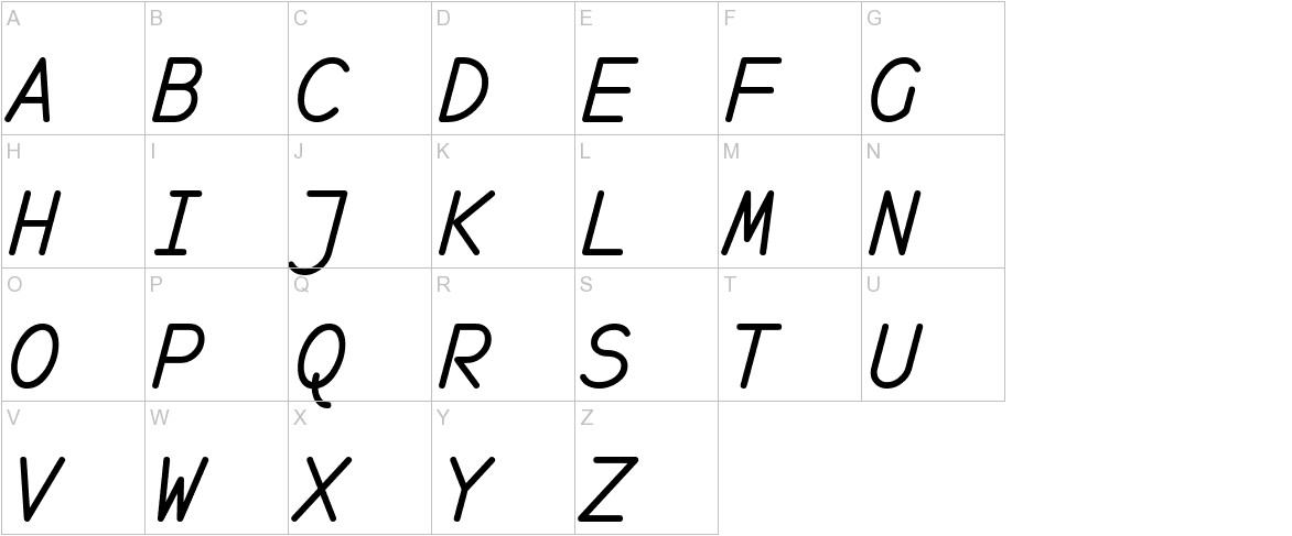 monofur   italic uppercase