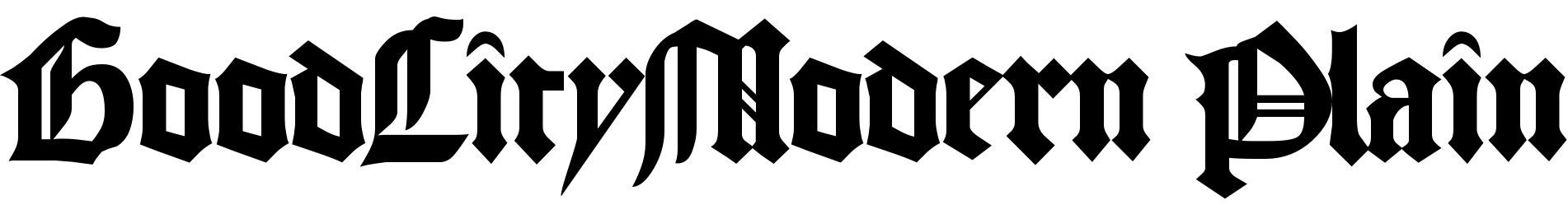 GoodCityModern Plain