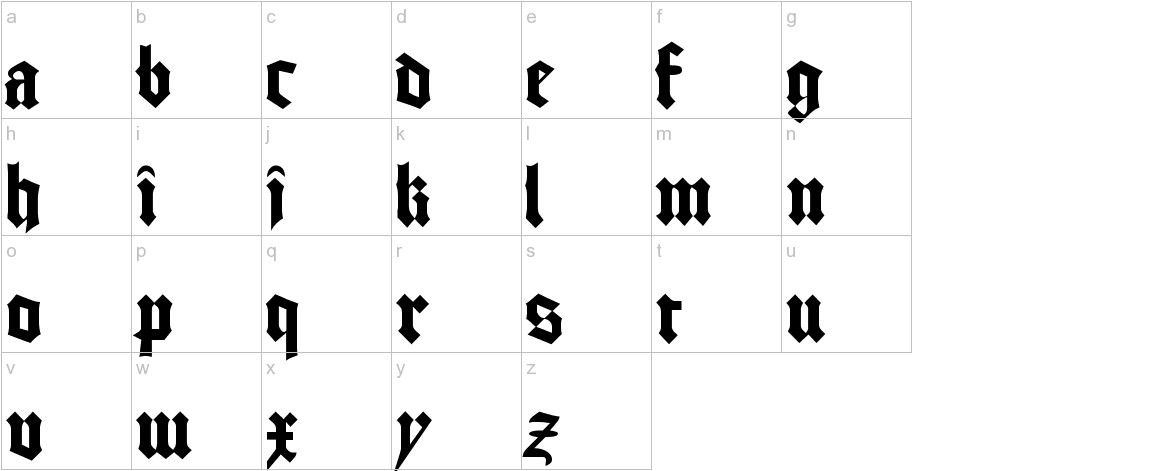 GoodCityModern Plain lowercase