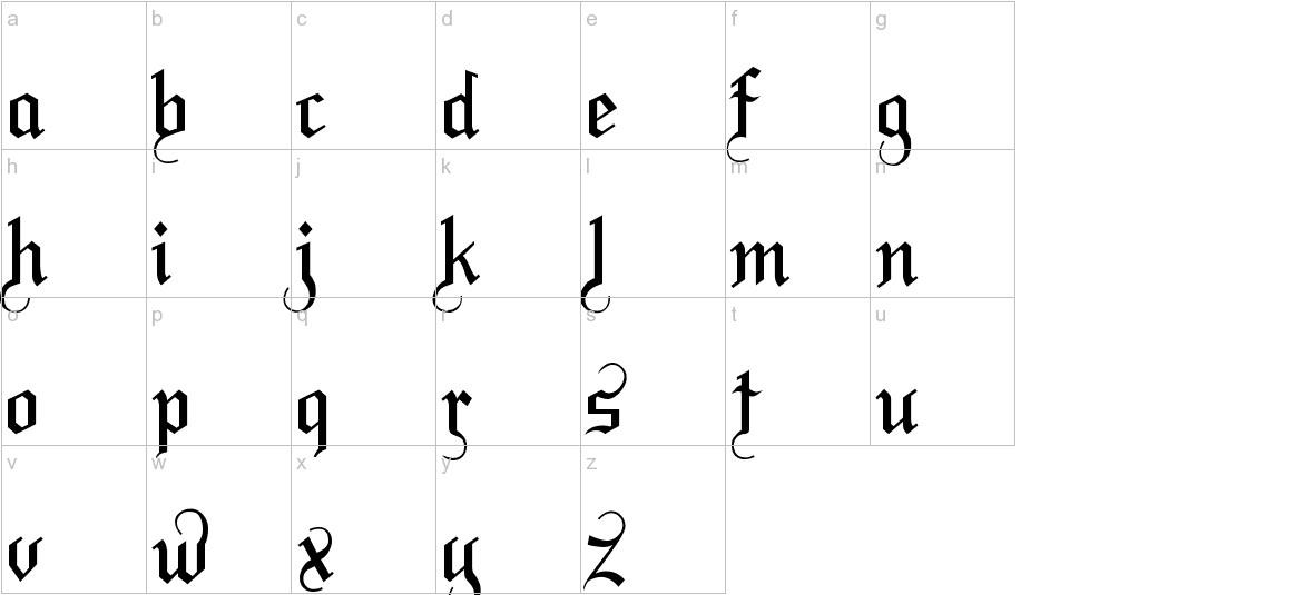 LaBrit lowercase