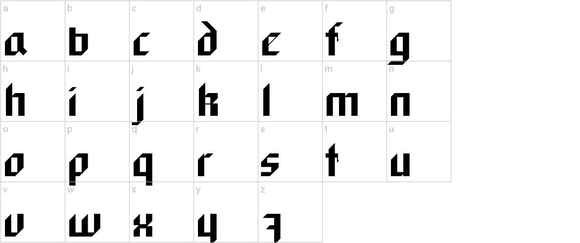 BlackForest lowercase