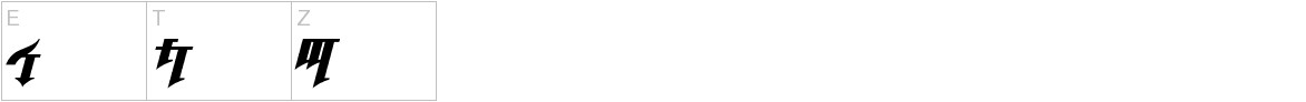 Golgotha Oblique J. uppercase